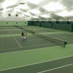 New tennis lighting installation at CVA Club in Ohio