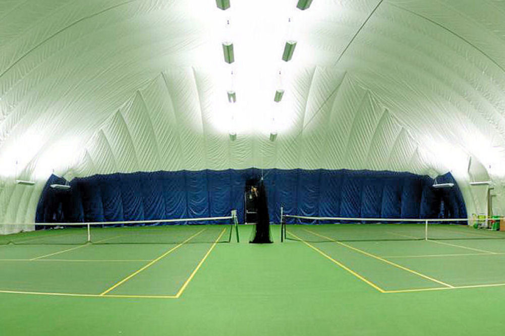 Brite Court Tennis Lighting Tennis Lighting Indirect LED And T5 Fluorescent L