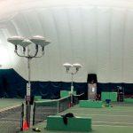 Farley Tennis Bubble lighting