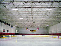 LED ice rink lights