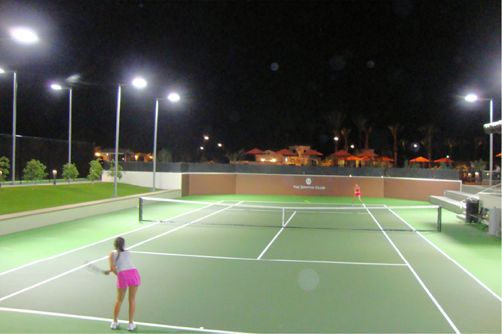 Brite Court Tennis Lighting Led For Indoor