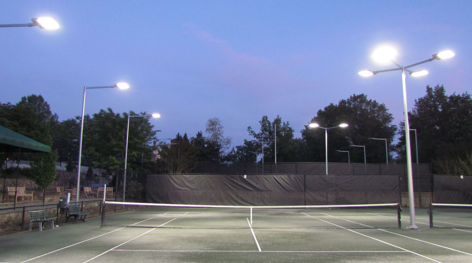 Led Light Outdoor Fixture Brite court tennis lighting led tennis lighting for indoor outdoor new led lighting for outdoor tennis court washington golf and country club workwithnaturefo