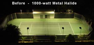 before 1000 Metal Halide