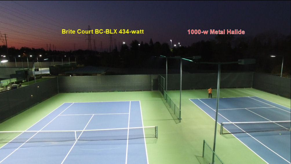 Brite court tennis lighting led tennis lighting for indoor outdoor new generation of outdoor tennis lighting aloadofball Choice Image