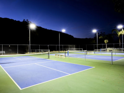 Brite Court Tennis Lighting Led Fixtures For