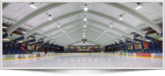 Ice arena and rink lighting