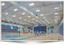 Led Lighting for Basketball courts, Racquetball courts, Gyms, Swimming pools, Ice rinks