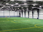 indoor soccer field lighting management