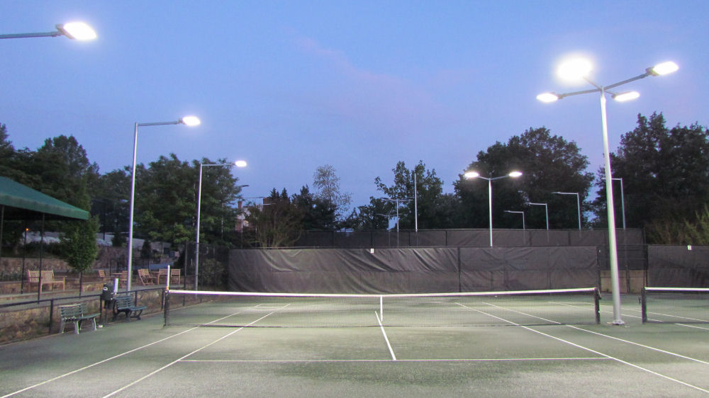 Brite Court Tennis Lighting Led For Indoor Outdoor Courts