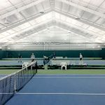 Sparetime Sports New Indoor LED indirect tennis lighting
