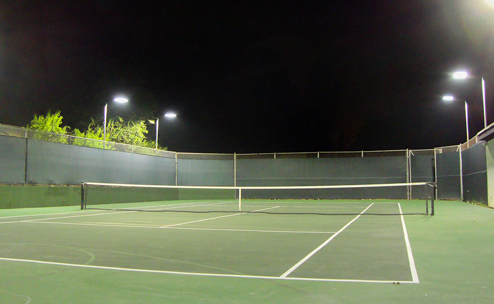 Led Tennis Court Lighting For Private