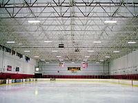 LED ice rink lights