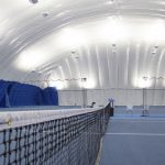 Indirect LED tennis Lighting Farley Air Structure
