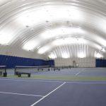 Ontario Racquet Club new LED indirect tennis lighting