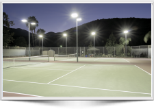LED Tennis lighting GE Club