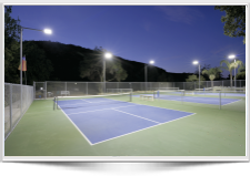 LED Pickle Ball Lighting at GE Club