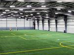 indoor soccer field lighting management