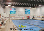 Lighting for Swimming pool areas